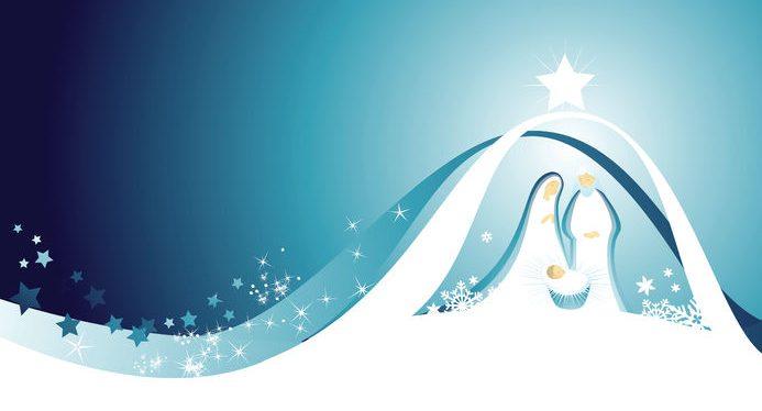 48297713 - nativity scene with holy family