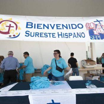 Hispanics at Encuentro