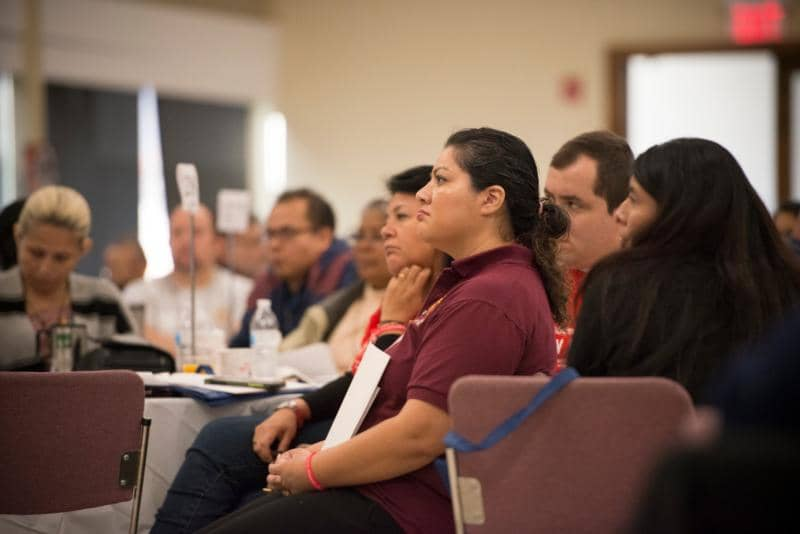 regional encuentro at St. Robert Bellarmine Co-Cathedral