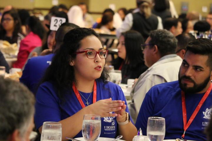 Diálogos regionales y los Jóvenes Adultos marcan el 2o día del V Encuentro