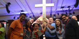 Los jóvenes fueron protagonistas en el Encuentro Nacional del Ministerio Hispano